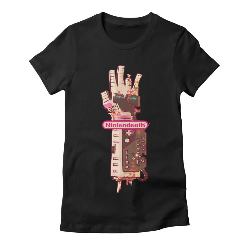 Nintendeath Women's Fitted T-Shirt by fightstacy