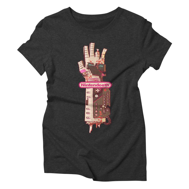 Nintendeath Women's Triblend T-shirt by fightstacy