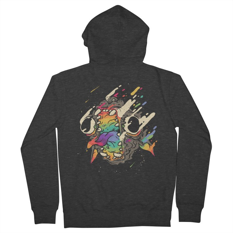 Rainbow God Men's French Terry Zip-Up Hoody by fightstacy