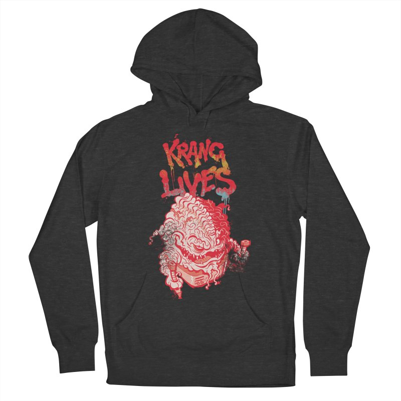 KRANG LIVES Men's Pullover Hoody by figzy8's Artist Shop