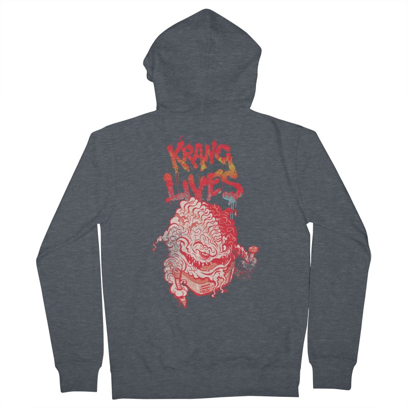 KRANG LIVES Women's French Terry Zip-Up Hoody by figzy8's Artist Shop