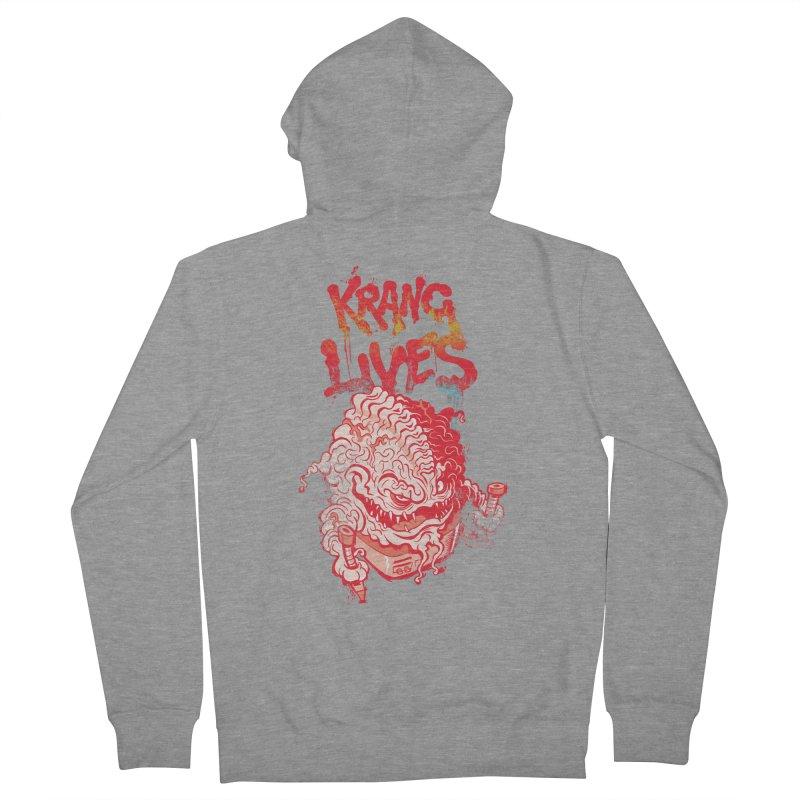 KRANG LIVES Women's Zip-Up Hoody by figzy8's Artist Shop