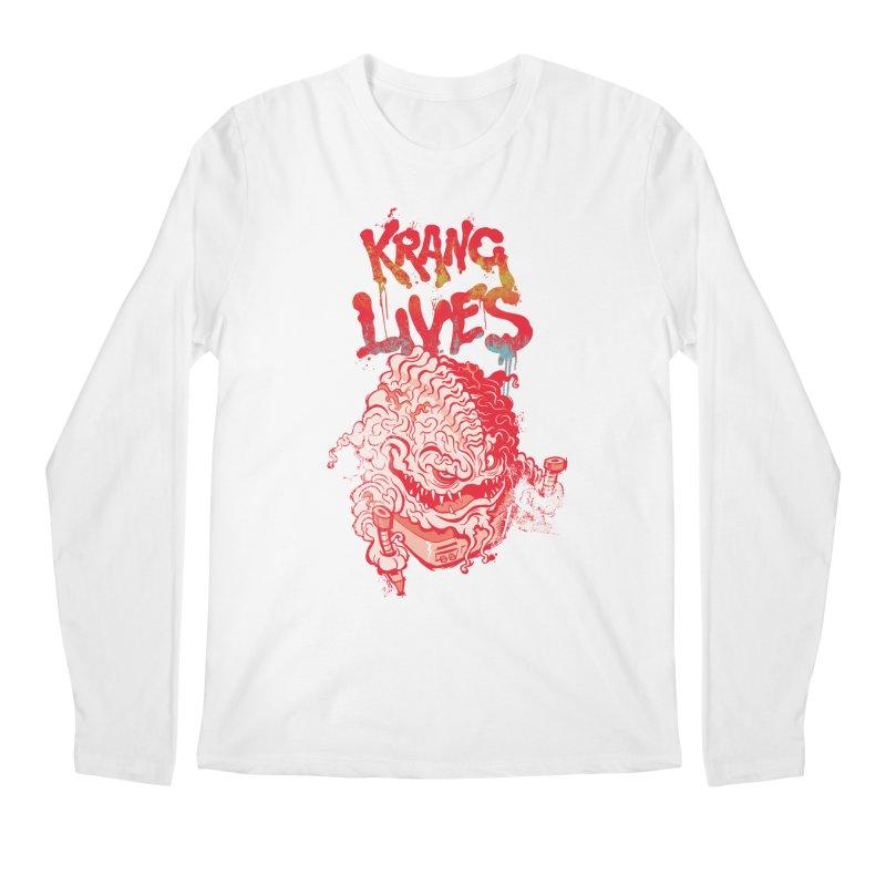 KRANG LIVES Men's Regular Longsleeve T-Shirt by figzy8's Artist Shop
