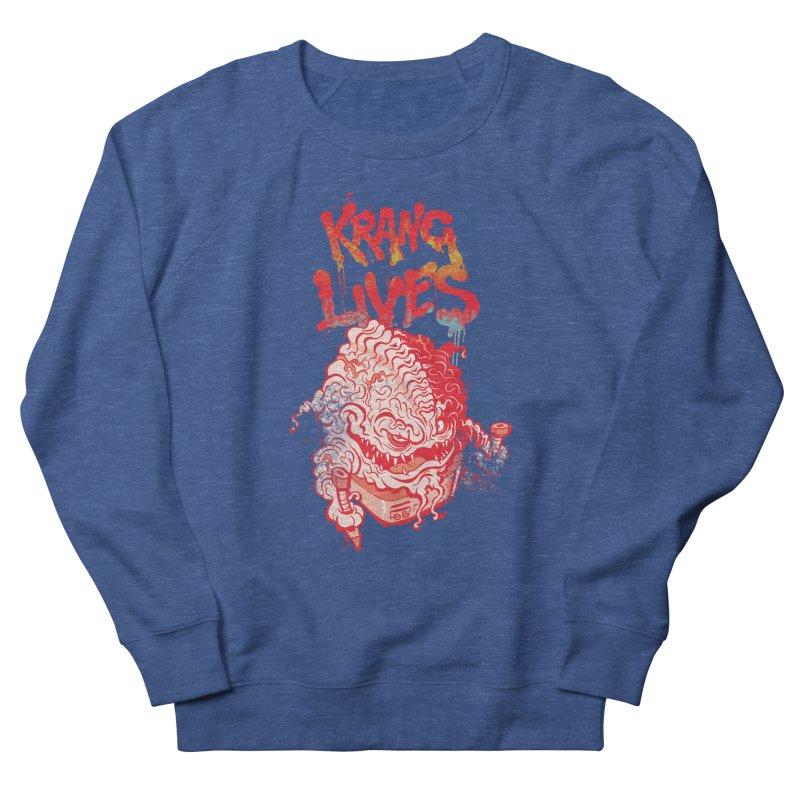 KRANG LIVES Women's Sweatshirt by figzy8's Artist Shop