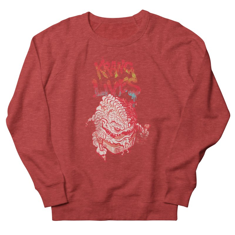 KRANG LIVES Men's French Terry Sweatshirt by figzy8's Artist Shop