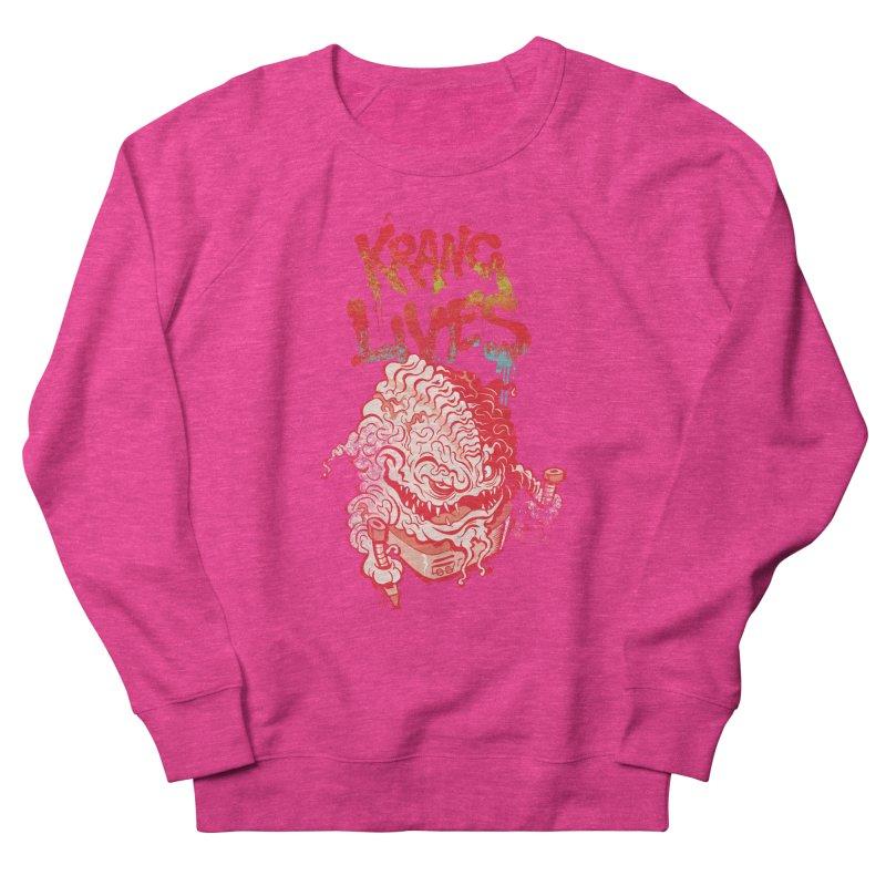 KRANG LIVES Men's Sweatshirt by figzy8's Artist Shop