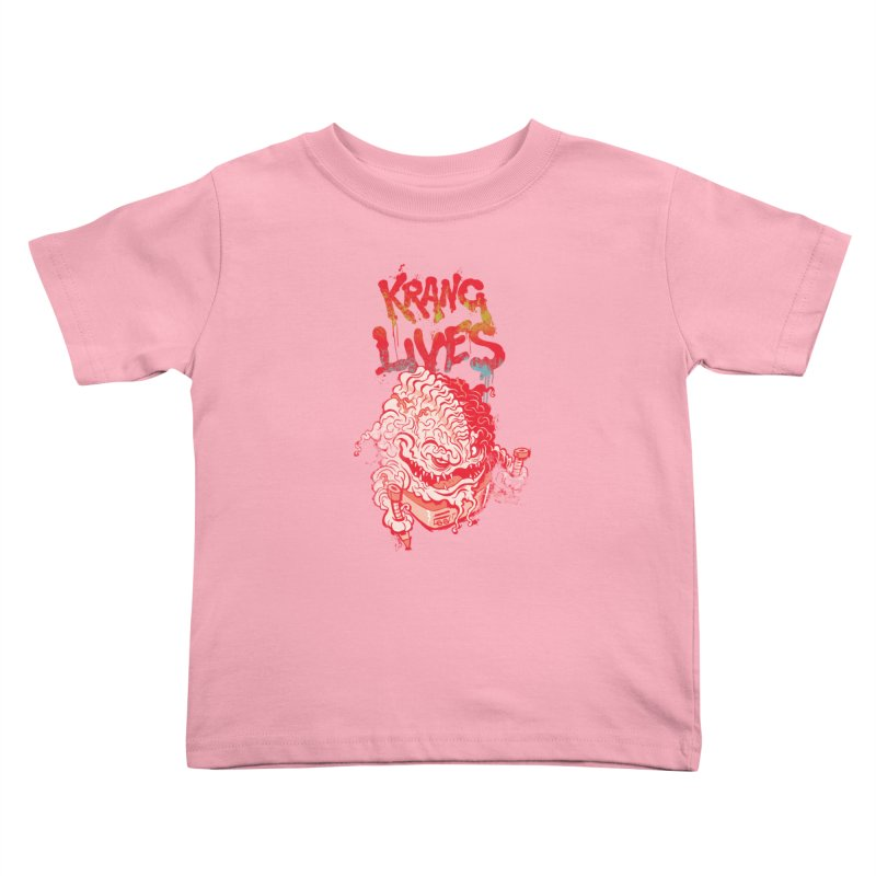 KRANG LIVES Kids Toddler T-Shirt by figzy8's Artist Shop