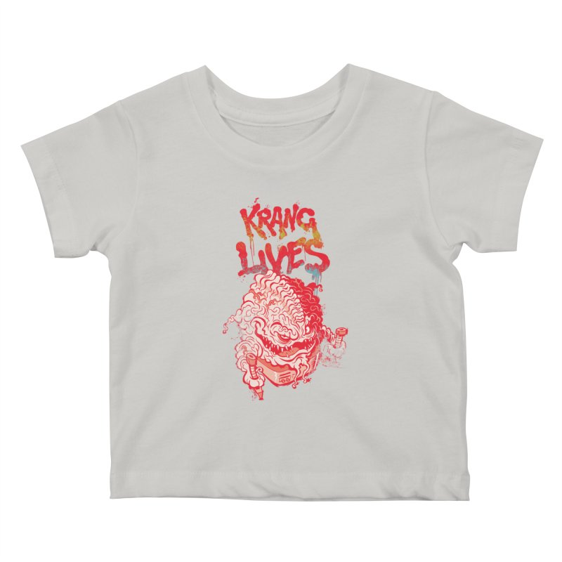 KRANG LIVES Kids Baby T-Shirt by figzy8's Artist Shop
