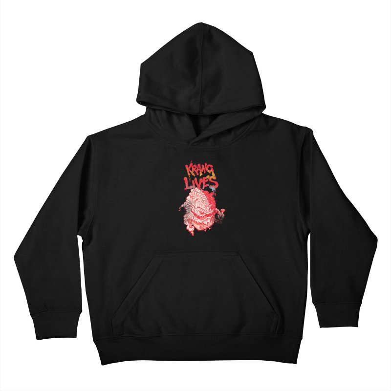 KRANG LIVES Kids Pullover Hoody by figzy8's Artist Shop