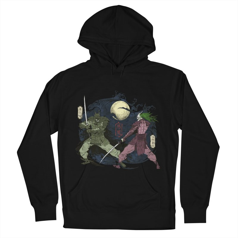 FEUDAL DARK KNIGHT Women's French Terry Pullover Hoody by figzy8's Artist Shop