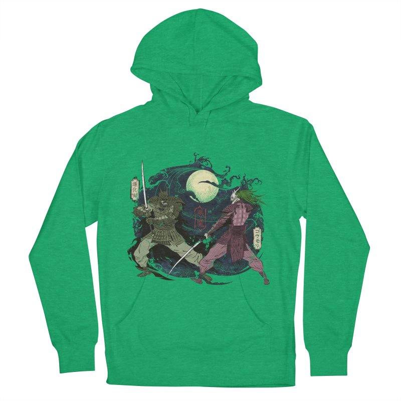 FEUDAL DARK KNIGHT Men's French Terry Pullover Hoody by figzy8's Artist Shop
