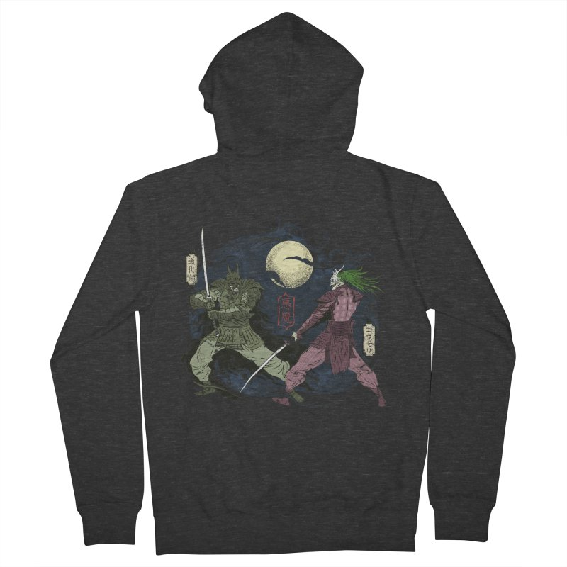 FEUDAL DARK KNIGHT Women's Zip-Up Hoody by figzy8's Artist Shop