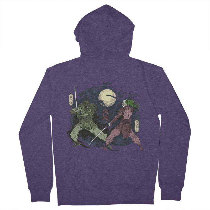 FEUDAL DARK KNIGHT Men's Zip-Up Hoody by figzy8's Artist Shop