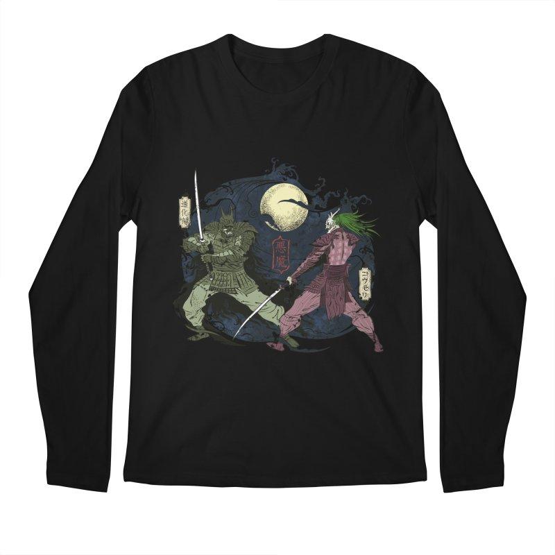 FEUDAL DARK KNIGHT Men's Regular Longsleeve T-Shirt by figzy8's Artist Shop