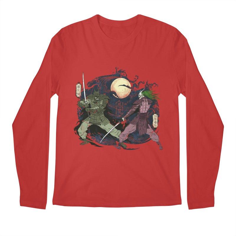 FEUDAL DARK KNIGHT Men's Longsleeve T-Shirt by figzy8's Artist Shop
