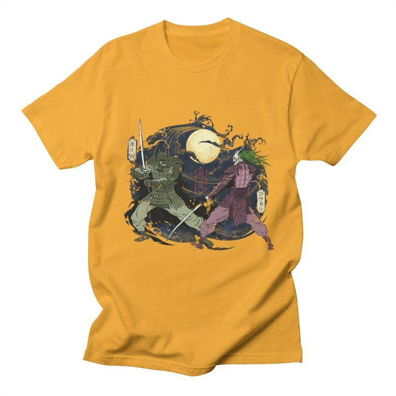 FEUDAL DARK KNIGHT Men's Regular T-Shirt by figzy8's Artist Shop