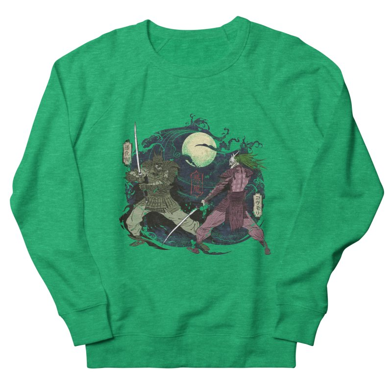 FEUDAL DARK KNIGHT Women's Sweatshirt by figzy8's Artist Shop