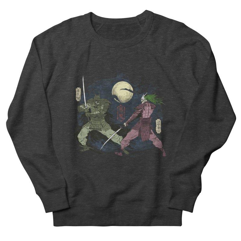 FEUDAL DARK KNIGHT Women's French Terry Sweatshirt by figzy8's Artist Shop