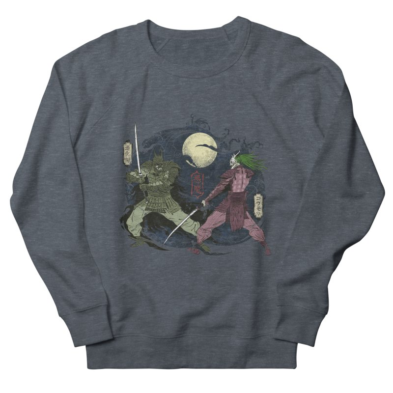 FEUDAL DARK KNIGHT Men's French Terry Sweatshirt by figzy8's Artist Shop