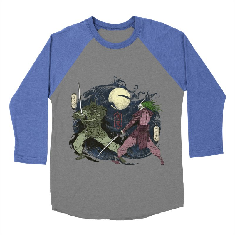 FEUDAL DARK KNIGHT Women's Baseball Triblend T-Shirt by figzy8's Artist Shop
