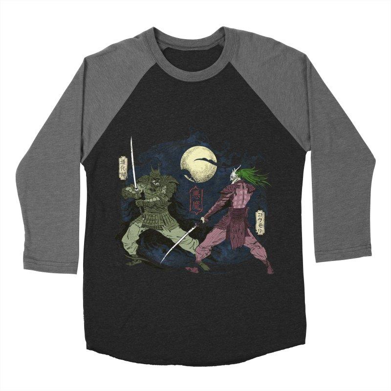 FEUDAL DARK KNIGHT Women's Baseball Triblend T-Shirt by figzy8's Artist Shop