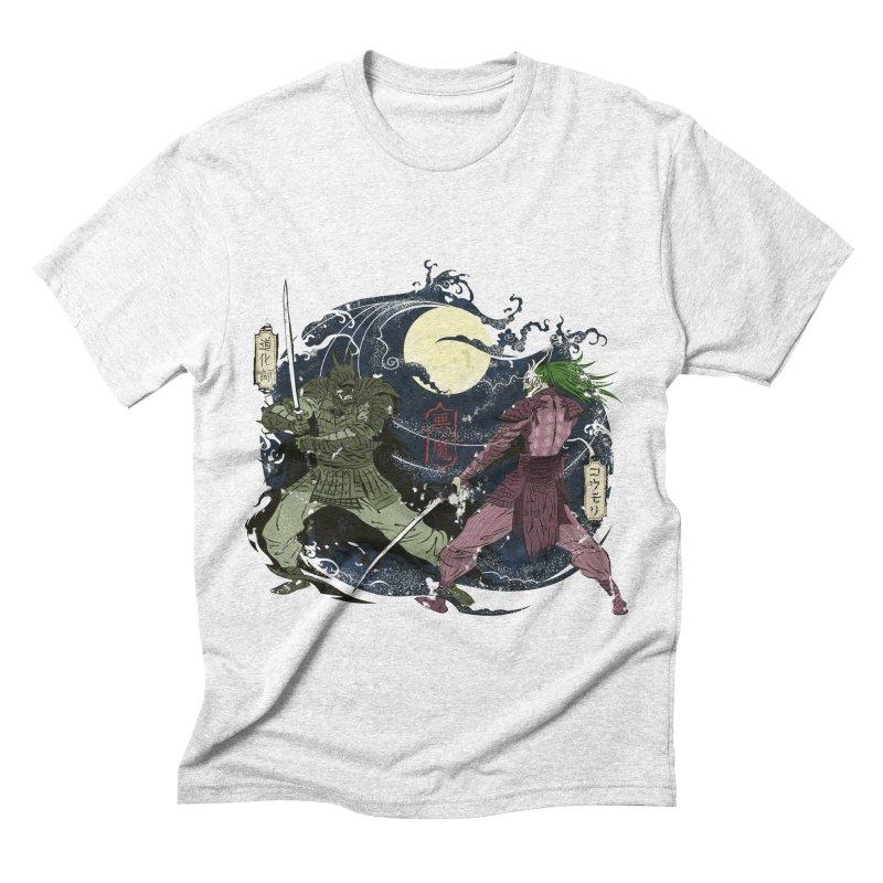 FEUDAL DARK KNIGHT Men's Triblend T-shirt by figzy8's Artist Shop