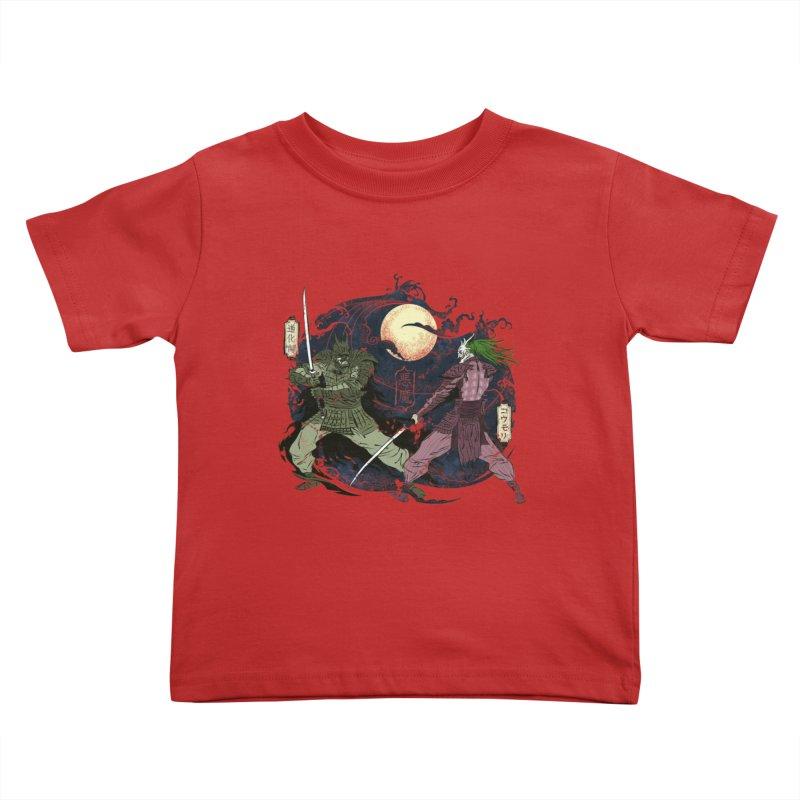 FEUDAL DARK KNIGHT Kids Toddler T-Shirt by figzy8's Artist Shop