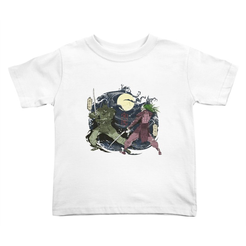 FEUDAL DARK KNIGHT Kids Toddler T-Shirt by figzy8's Artist Shop