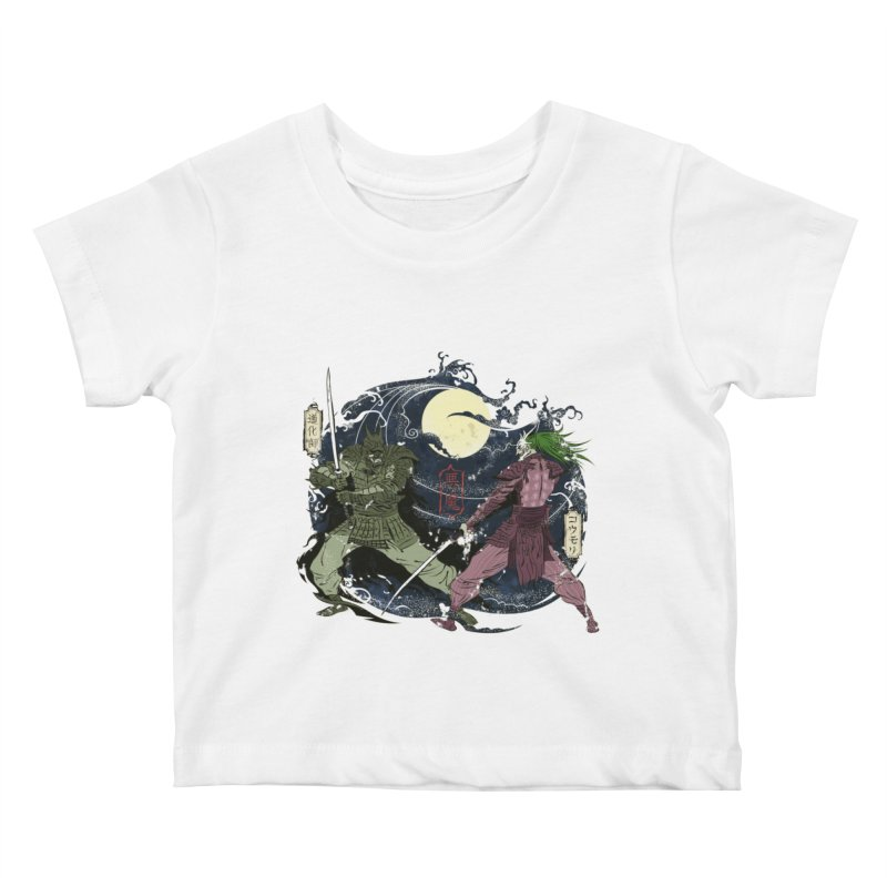 FEUDAL DARK KNIGHT Kids Baby T-Shirt by figzy8's Artist Shop