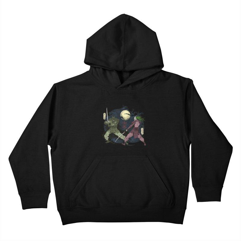 FEUDAL DARK KNIGHT Kids Pullover Hoody by figzy8's Artist Shop