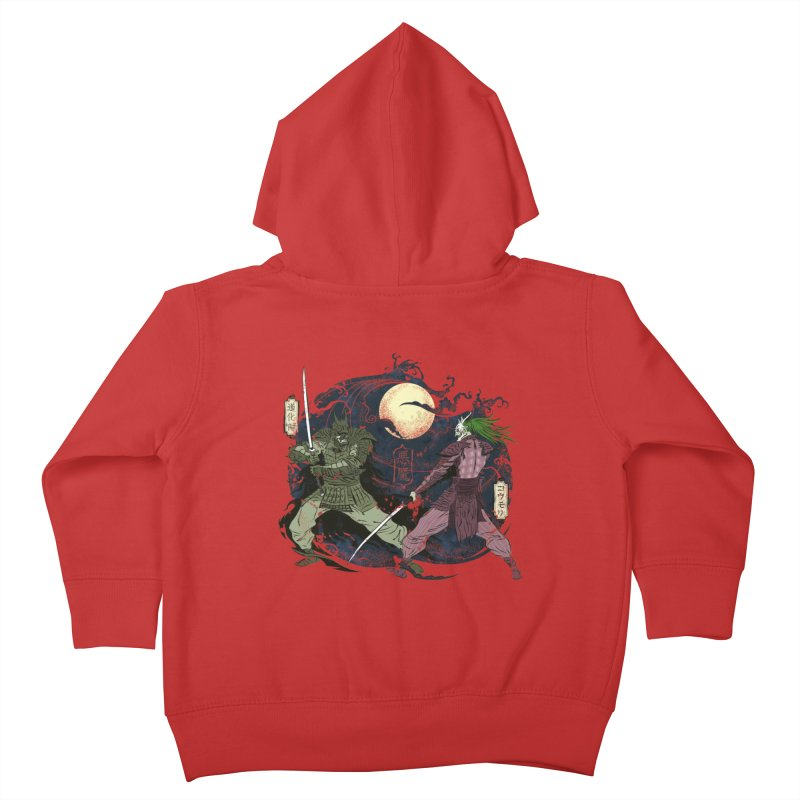 FEUDAL DARK KNIGHT Kids Toddler Zip-Up Hoody by figzy8's Artist Shop