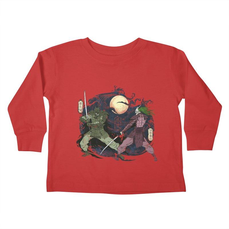 FEUDAL DARK KNIGHT Kids Toddler Longsleeve T-Shirt by figzy8's Artist Shop