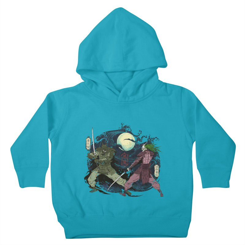 FEUDAL DARK KNIGHT Kids Toddler Pullover Hoody by figzy8's Artist Shop
