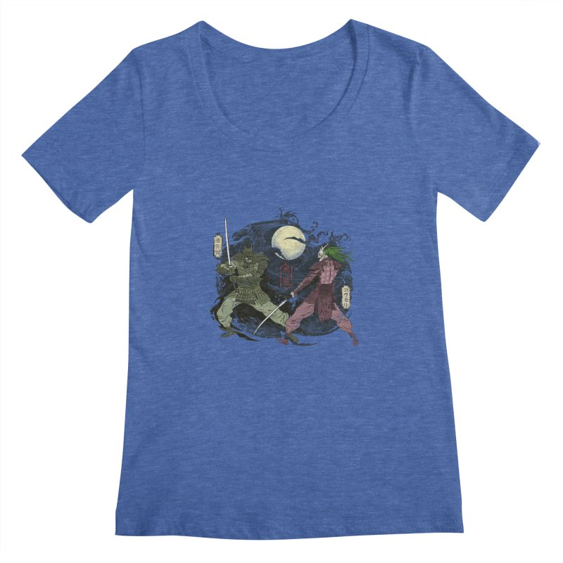 FEUDAL DARK KNIGHT Women's Scoopneck by figzy8's Artist Shop