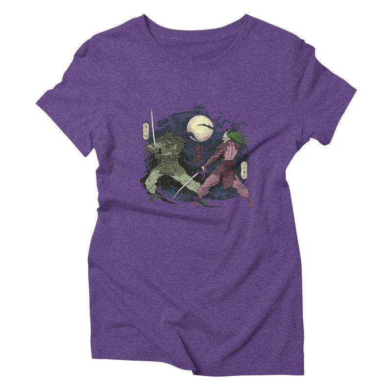 FEUDAL DARK KNIGHT Women's Triblend T-Shirt by figzy8's Artist Shop