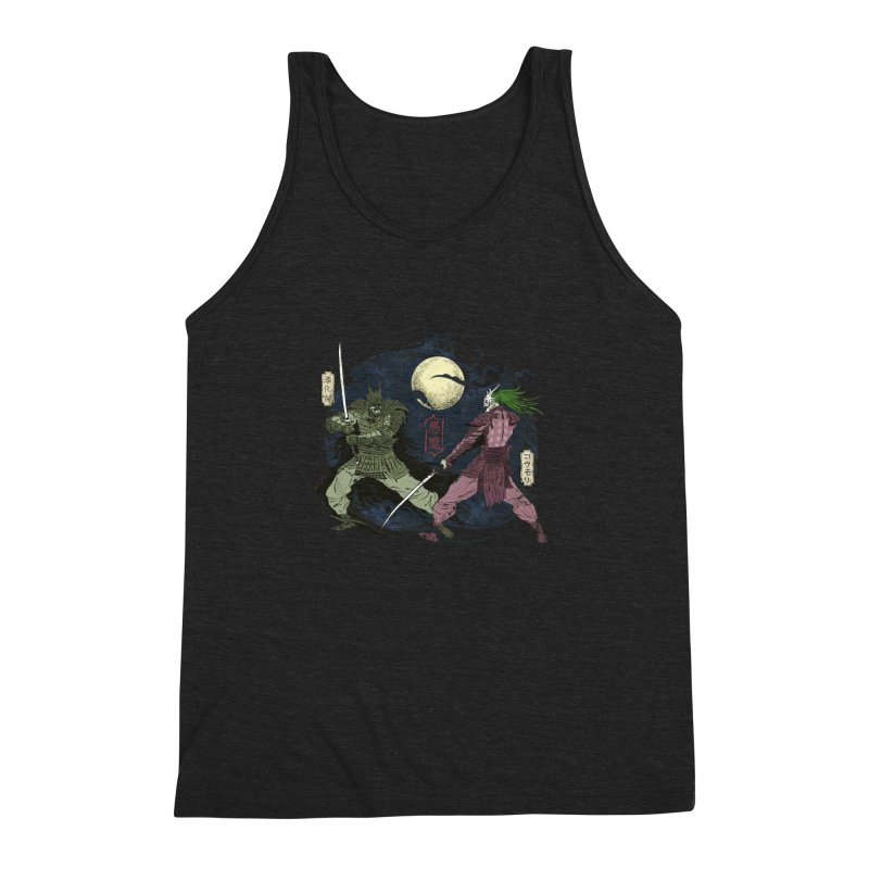 FEUDAL DARK KNIGHT Men's Triblend Tank by figzy8's Artist Shop