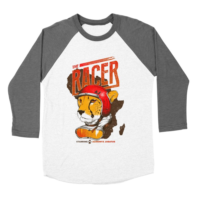 The Racer Men's Baseball Triblend T-Shirt by Filds Shop