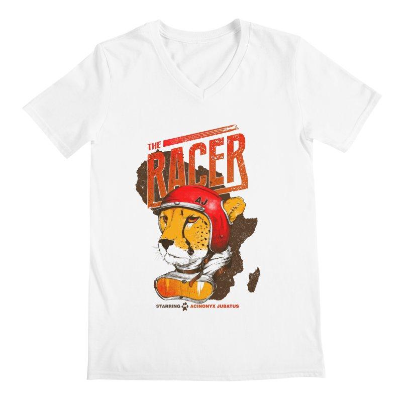 The Racer Men's V-Neck by Filds Shop