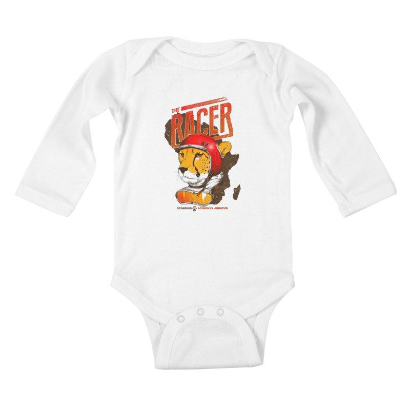 The Racer Kids Baby Longsleeve Bodysuit by Filds Shop