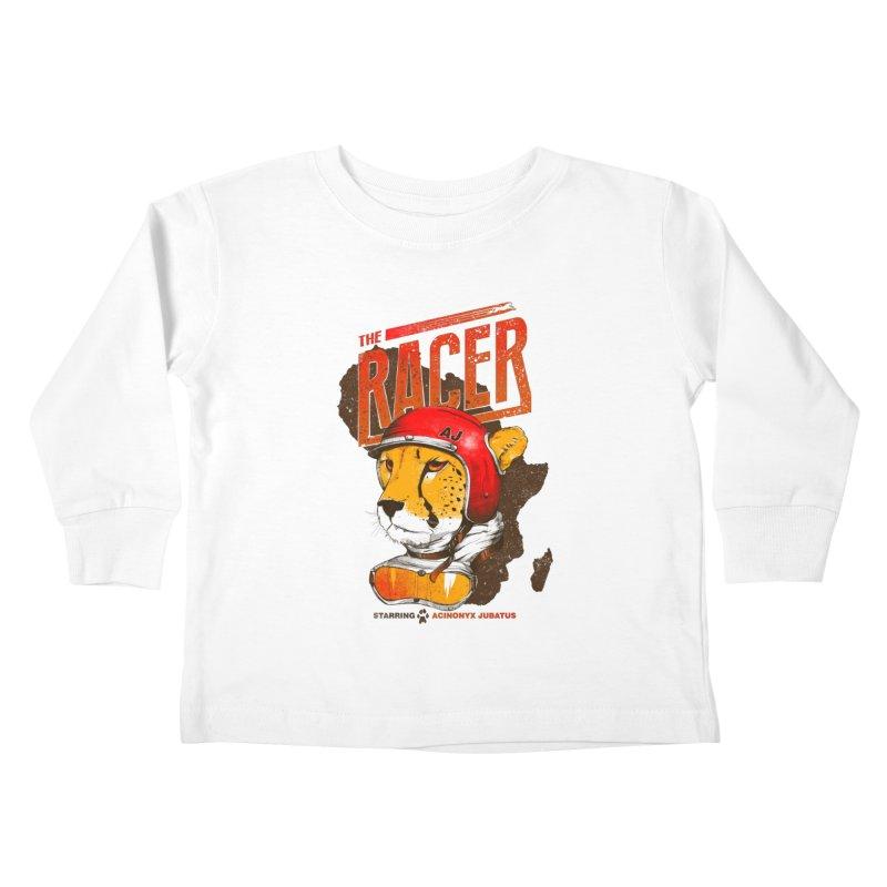 The Racer Kids Toddler Longsleeve T-Shirt by Filds Shop