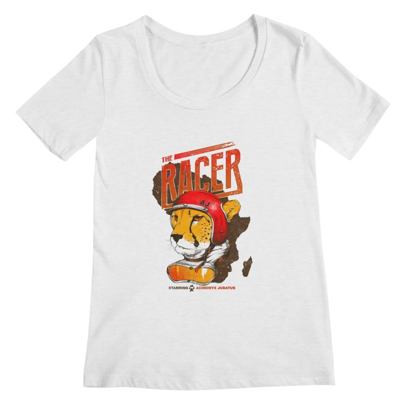 The Racer Women's Scoopneck by Filds Shop