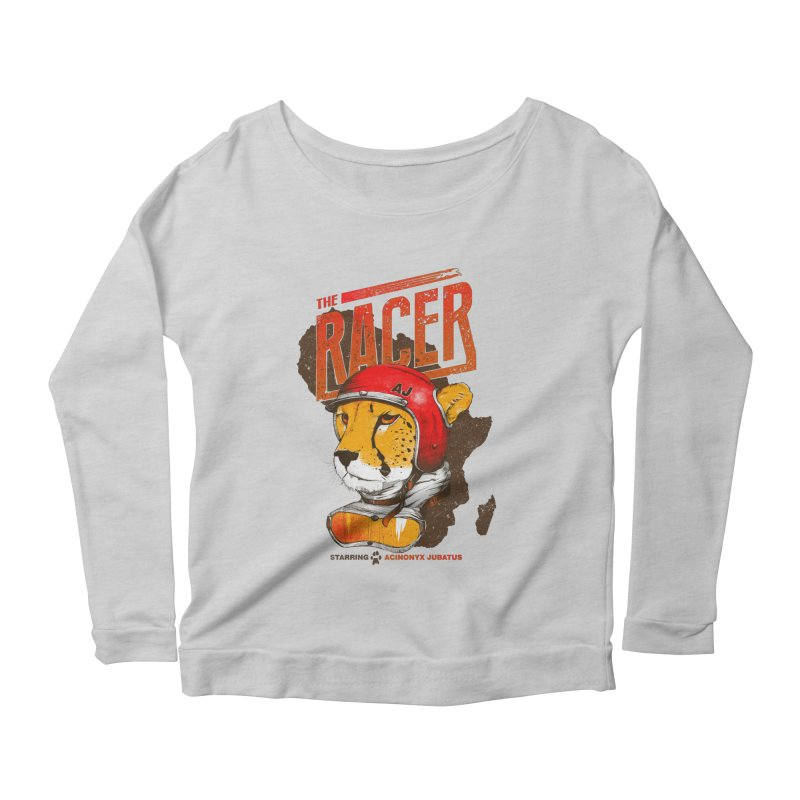 The Racer Women's Longsleeve Scoopneck  by Filds Shop