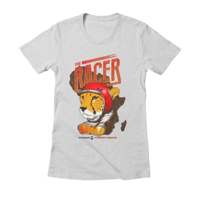 The Racer Women's Fitted T-Shirt by Filds Shop