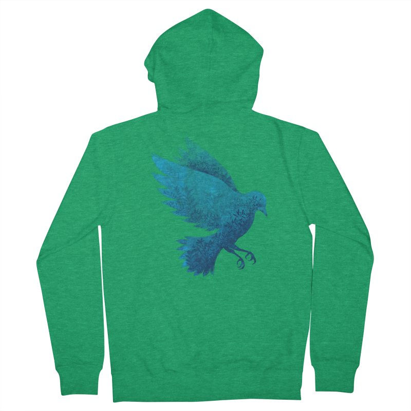Birdy Bird Women's Zip-Up Hoody by Fil Gouvea's Artist Shop