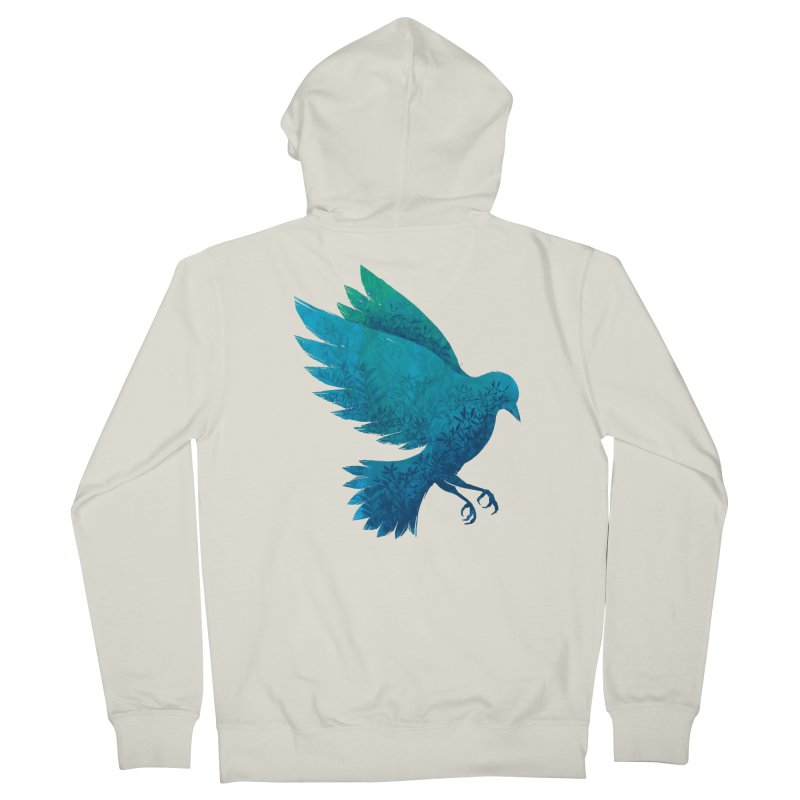 Birdy Bird Men's Zip-Up Hoody by Fil Gouvea's Artist Shop