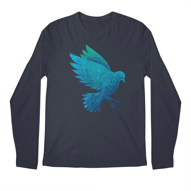 Birdy Bird Men's Longsleeve T-Shirt by Fil Gouvea's Artist Shop