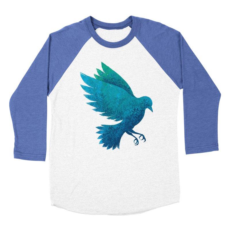 Birdy Bird Women's Baseball Triblend T-Shirt by Fil Gouvea's Artist Shop