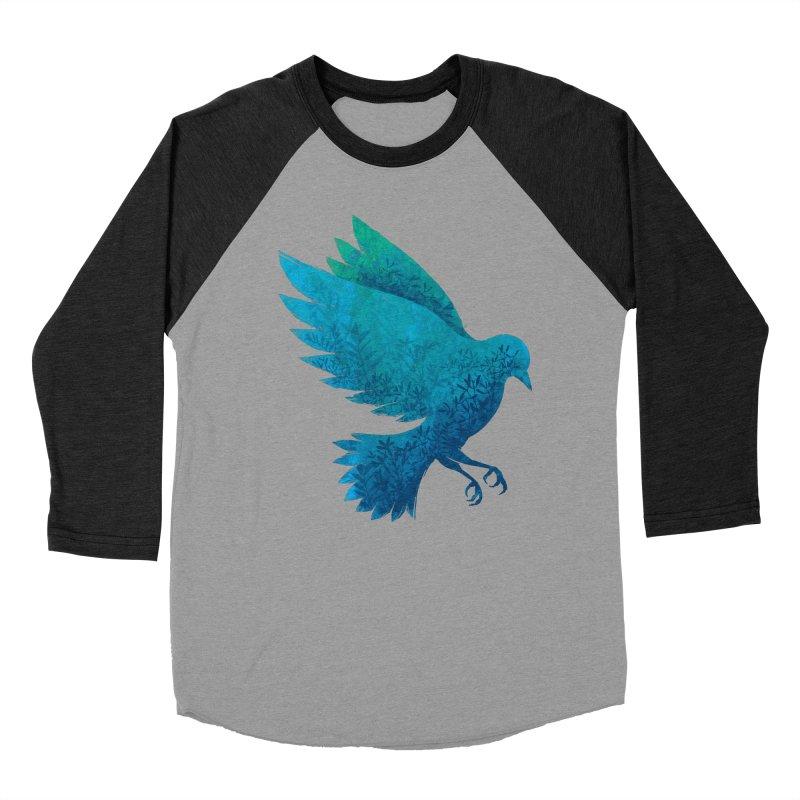 Birdy Bird Men's Baseball Triblend T-Shirt by Fil Gouvea's Artist Shop