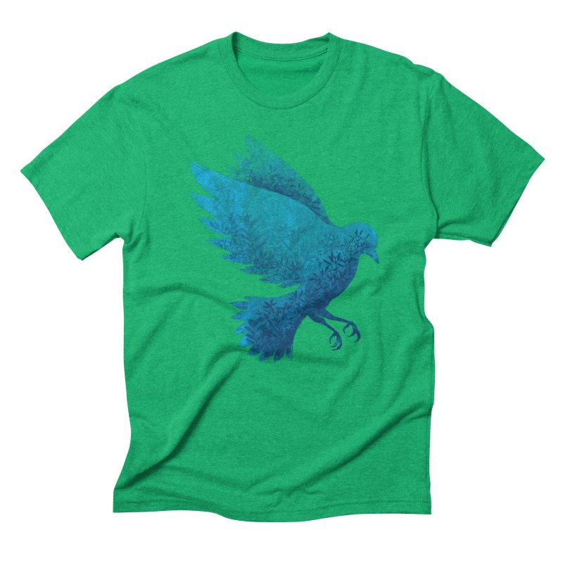 Birdy Bird Men's Triblend T-shirt by Fil Gouvea's Artist Shop