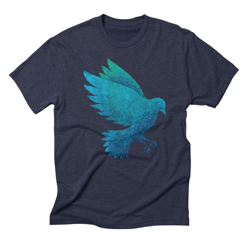 Birdy Bird Men's Triblend T-shirt by Fil Gouvea's Artist Shop